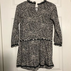 Hanna Andersson Dresses - Hanna Andersson Cheetah Print Dress Girls 130 or 8